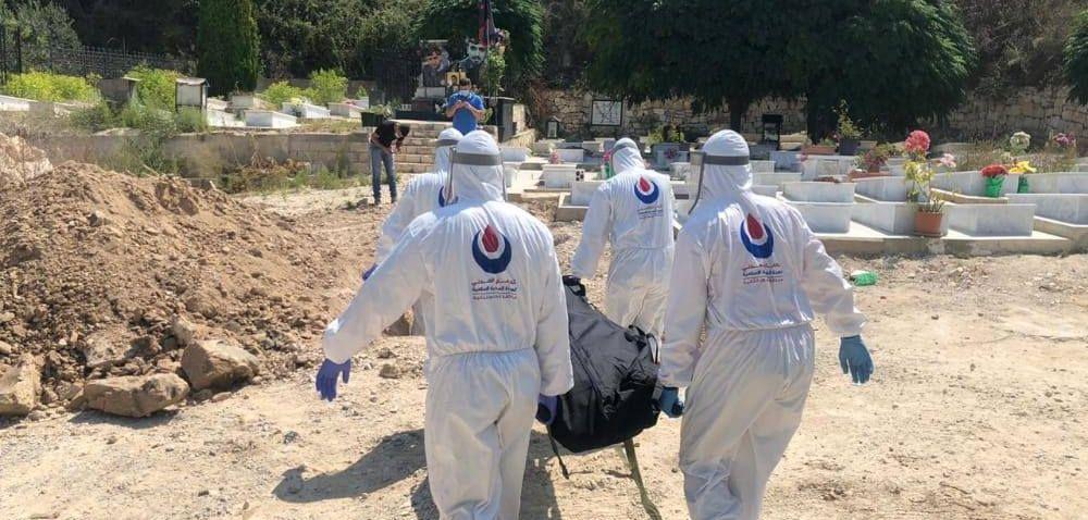 4 حالات دفن جراء فيروس كورونا في مديرية الجنوب الثانية