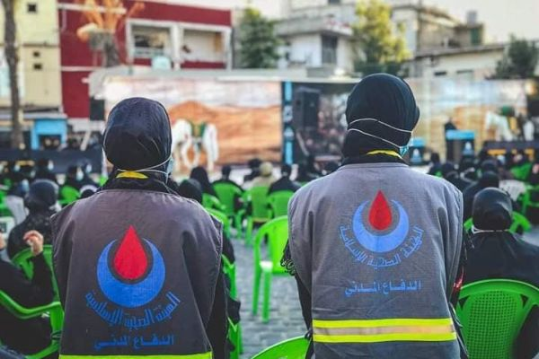 119 خدمة قدمها فريق الدفاع المدني في مركز الزرارية التطوعي خلال شهر اب 2021