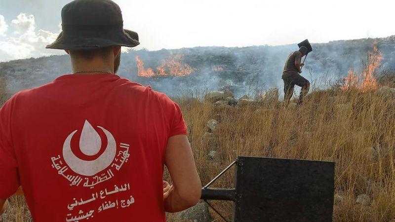 176 مهمة اسعاف انقاذ واطفاء لمركز جبشيت التطوعي خلال شهر ايلول