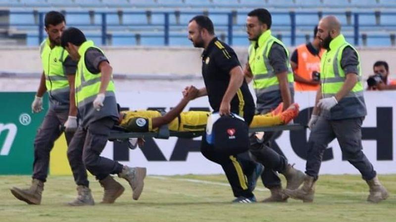 الدفاع المدني يواكب مباراة فريق العهد في بطولة كأس الاتحاد الأسيوي