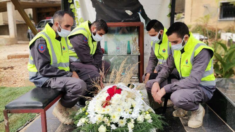 بالصور: مديرية البقاع تحيي يوم الشهيد