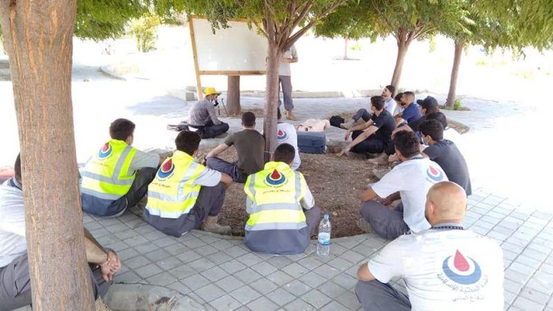 ورشة اسعافية للمتطوعين في مركزي النبطية الفوقى وحبوش