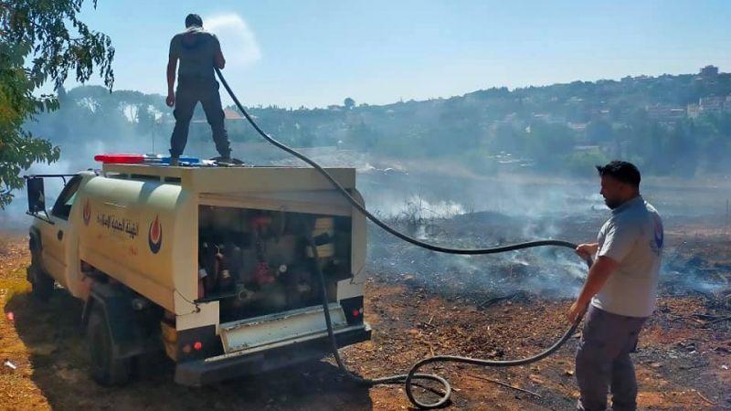 26 مهمة اسعاف انقاذ واطفاء لمركز النبطية الفوقا التطوعي خلال شهر ايلول