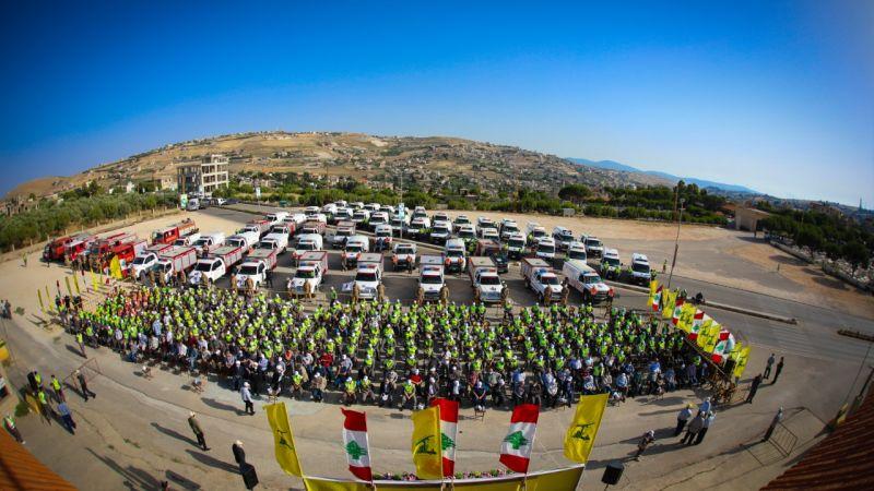 بالصور: الدفاع المدني يسلم 52 آلية إسعاف وإطفاء وإنقاذ إلى قرى وبلدات الجنوب الأولى