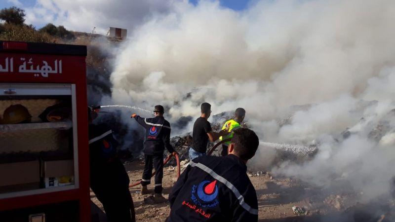 1092 خدمة ومهمة خلال الأسبوع الماضي على مختلف الأراضي اللبنانية