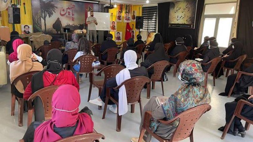 الدفاع المدني ينفذ ورشة حوادث منزلية في بلدة حبوش