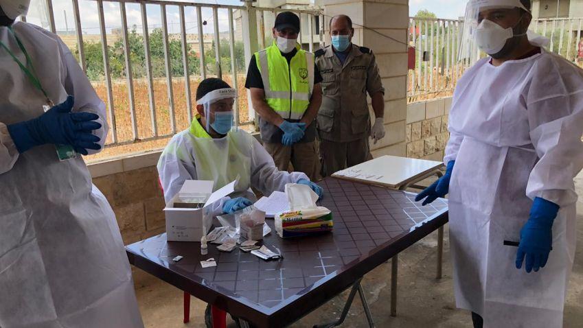 مديرية المنطقة الاولى تواكب فرق وزارة الصحة في عدد من البلدات الجنوبية