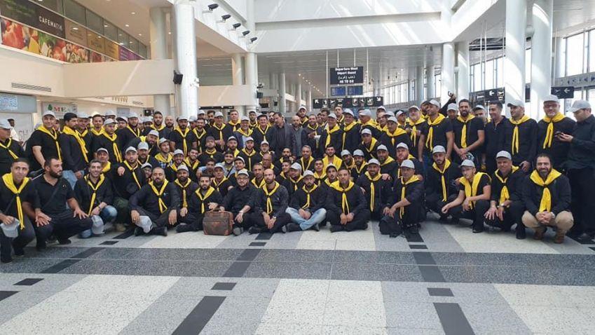 وفد الدفاع المدني يتوجه الى كربلاء لخدمة زوار الإمام الحسين(ع)