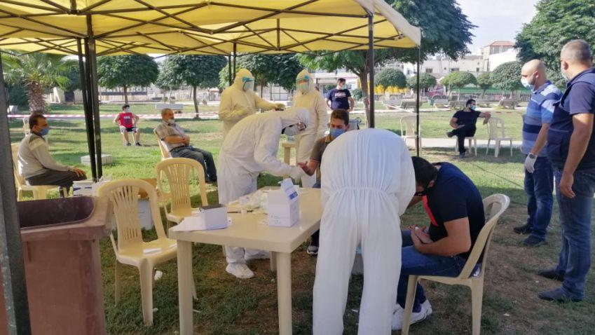 مديرية البقاع  في الدفاع المدني تواكب فرق وزارة الصحة في عدد من المدن و القرى البقاعية