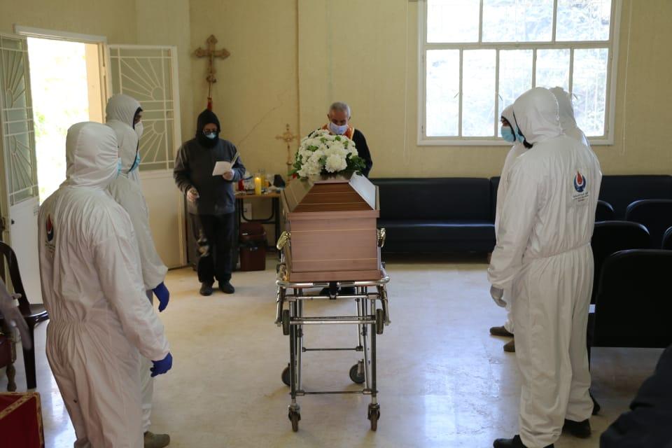 حالة دفن جراء فيروس كورونا في مشغرة